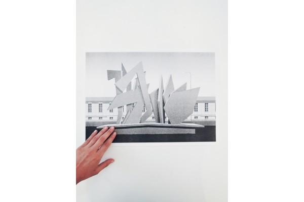 Plakát Chipboard / Zvláštní okolnosti – Jan Šrámek