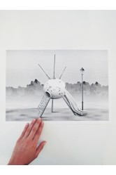 Plakát Sputnik / Zvláštní okolnosti – Jan Šrámek