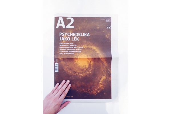 A2 – číslo 22/2017 /Psychedelika jako lék
