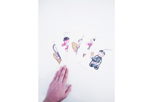 Vánoční pohlednice-Kateřina Kynclová