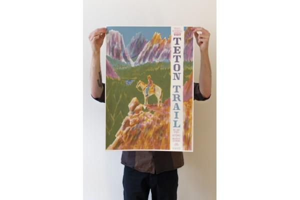 Teton Trail – plakát B2