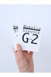 Slovník Grafiky 2 - Vladimír Kokolia. Vladimír Kokolia / Slovník Kateřiny Š. - Kateřina Šedá