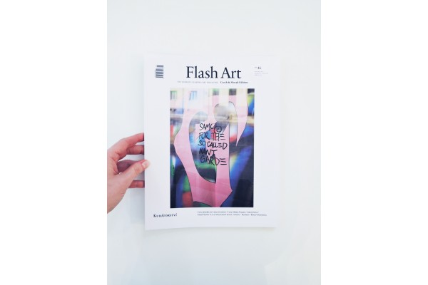 Flash Art Czech and Slovak edition No. 46/ December 2017 – February 2018