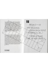 "Atrium 2 – 10 / Jan Nálevka: ""Ráda bych totiž i podotkla, že..."" / ""I would also like to add that..."""