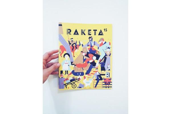 Raketa č. 15. Časopis pro děti chytrých rodičů / Detektivní číslo