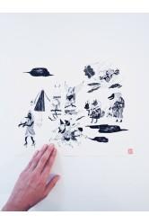 Obrázek černobílý velký – Saki Matsumoto