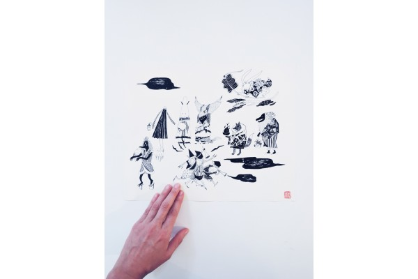 Print black and white – Saki Matsumoto