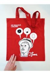 taška – Josef Šíma, červená