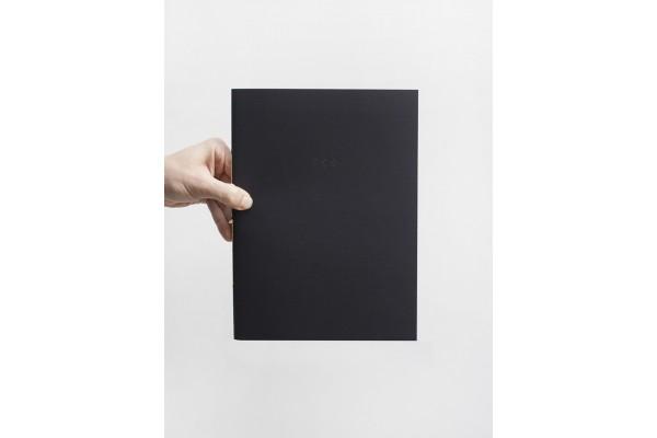Sešit A4 černý / Za bookem