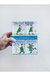 Jaro, Léto, Podzim a Zima v kostce – Rotraut Susanne Bernerová