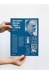 Jaroslav Benda 1882 – 1970: Typografická úprava a písmo – Petra Dočekalová a kolektiv