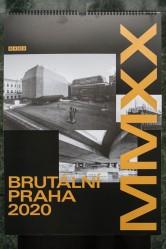 Kalendář Brutální Praha 2020