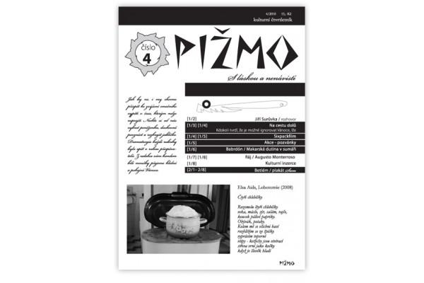PIŽMO 4 – kulturní čtvrtletník
