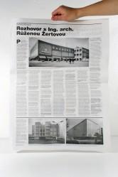 Barbora Klímová – Rozhovor s Ing. Arch. Růženou Žertovou