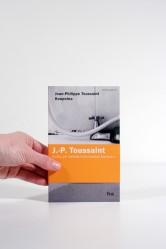 Jean-PhilippeToussaint – Koupelna