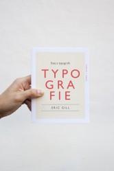 Eric Gill – Esej o typografii
