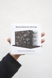 Membra Disjecta for John Cage. Wanting to Say Something About John. (CD)