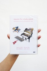 Requiem for a baby grand | final piano music for 8 hands and tools (DVD)