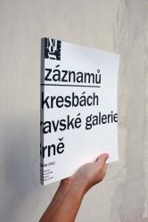 Možnosti záznamů / Sto let v kresbách ze sbírky Moravské galerie v Brně