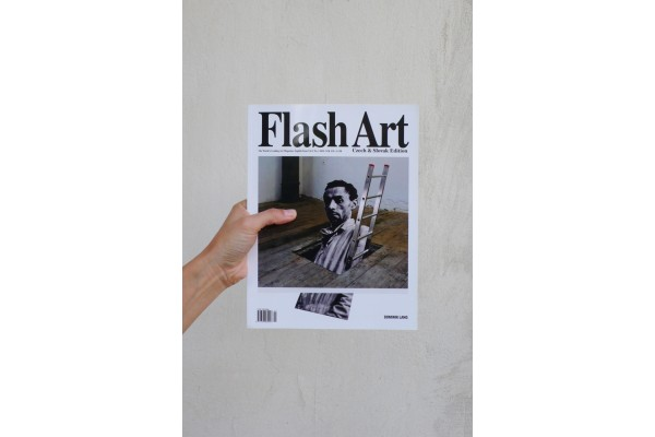 Flash Art Czech and Slovak edition English Issue Vol. 1, No. 1/ 2011 / Dominik Lang