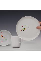 Yummy set Confetti – třídílná jídelní sestava pro děti – Renata Řezníčková