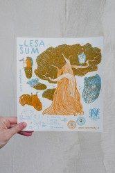 Vystřihovánka Lesa šum – Napoli