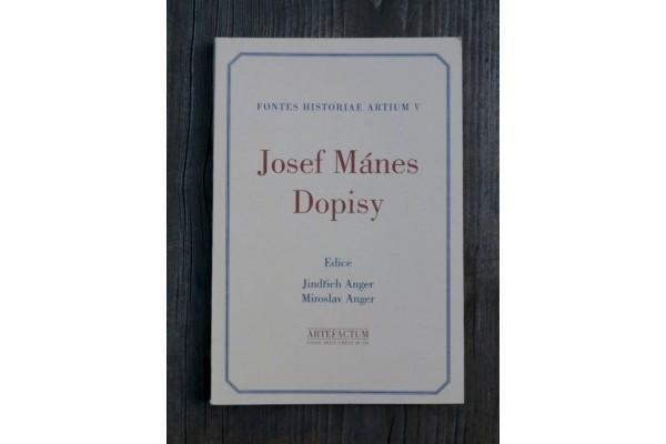 Josef Mánes – Dopisy