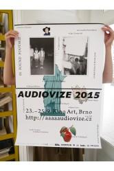 Plakát Audiovize 2015