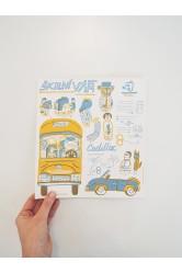 Vystřihovánka Školní výlet – Napoli
