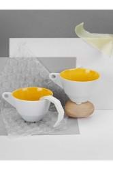 Šálek NF, malý – Žlutý