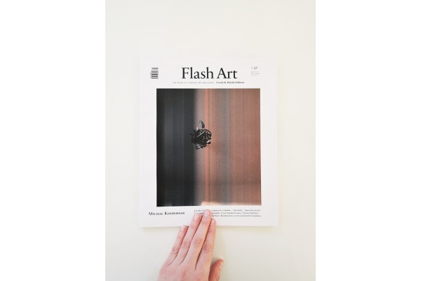 Flash Art Czech & Slovak Edition No. 37 / Michal Kindernay
