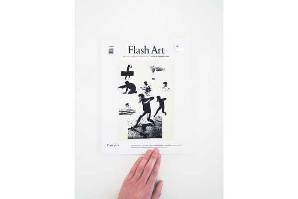 Flash Art Czech and Slovak edition No. 38/ December – February 2016 / Petr Váša