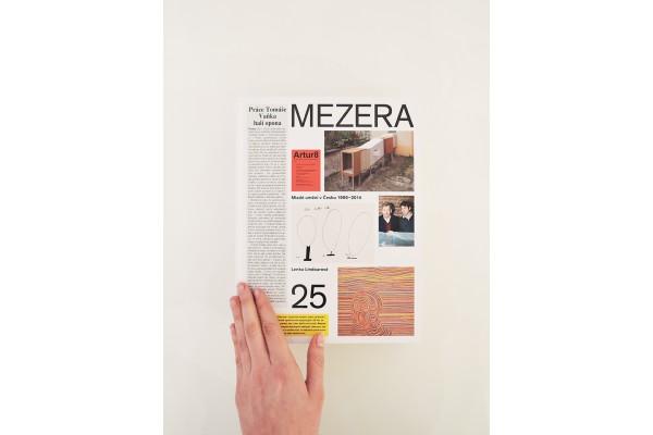 Mezera - Mladé umění v Česku (1990- 2014)
