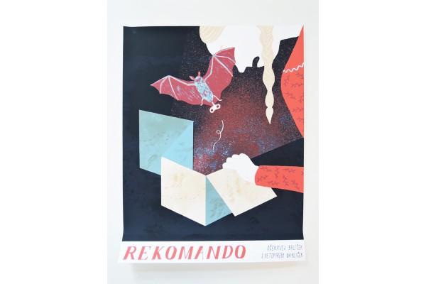 Plakát Běžíliška – Rekomando