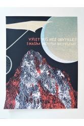 Plakát Běžíliška – Výlet výš než obvykle? B2