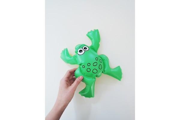 Nafukovací hračka, žabka