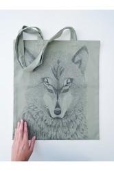 Taška HUHŮ #vlk, khaki