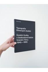 Typografie filmových titulků – Andrea Vacovská