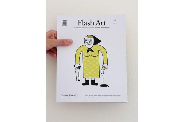 Flash Art Czech and Slovak edition No. 39/ March – May 2016 / Adam Šakový
