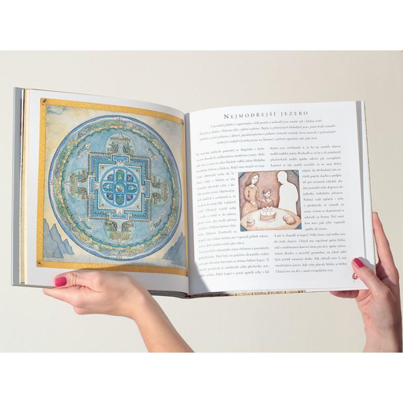 Tibet   Tajemství červené krabičky – Petr Sís - Knihkupectví ArtMap 1bcc0bc0aaa43