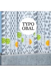 Typografické vánoční balící papíry Typo Obal