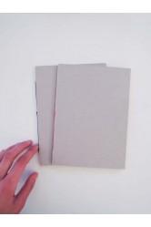 Za bookem – A4 sešit linkovaný, nelinkovaný v lepence
