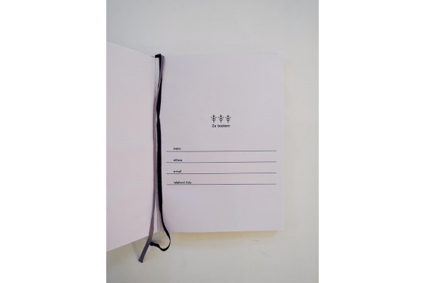 Za bookem- A4 deník