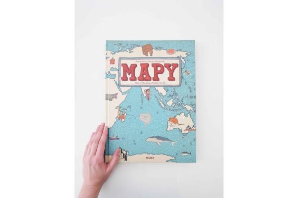 Mapy, Atlas světa, jaký svět ještě neviděl - Aleksandra a Daniel Mizielińští