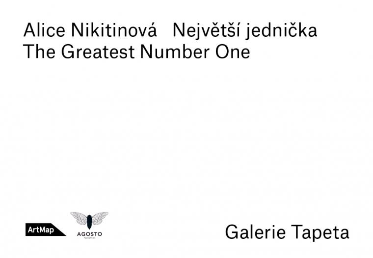 """26. 6. Praha / Vernisáž výstavy Alice Nikitinové """"Největší jednička"""""""
