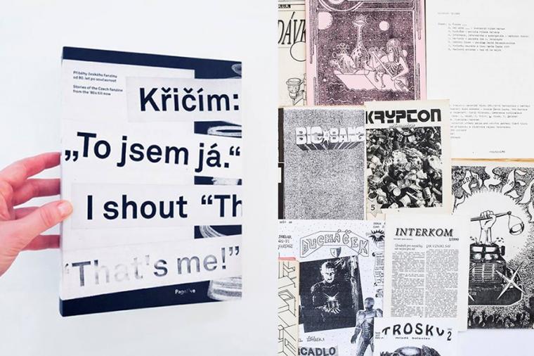 """29. 3. Brno / Křičím: """"To jsem já."""" / příběhy českých fanzinů"""