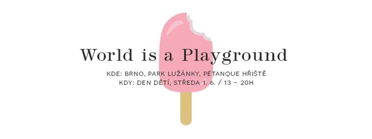 1. 6. / ArtMap stánek v Brně Lužánkách na World is a Playground