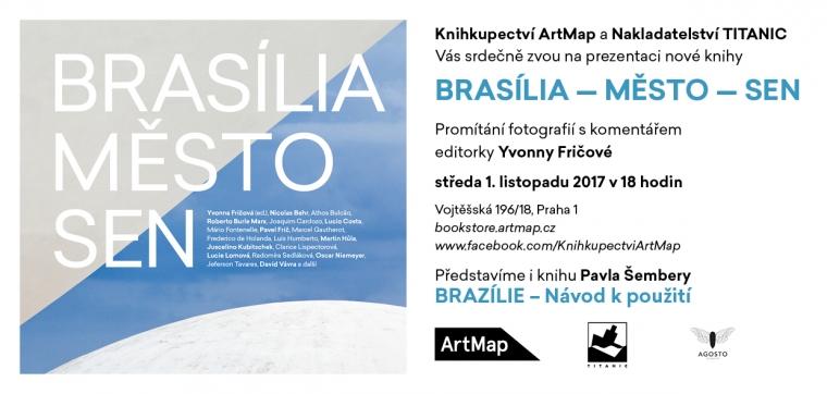1. 11. Praha / Prezentace knihy Brasília, město, sen
