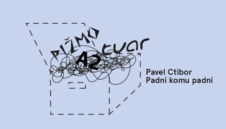 25. 3. Praha / Pavel Ctibor: Padni komu padni / Večery Pandory v Knihkupectví ArtMap