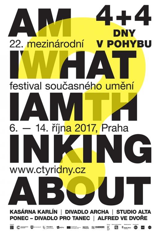 6. - 14. 10 Praha / knihkupectví ArtMap na festivalu 4+4 dny v pohybu